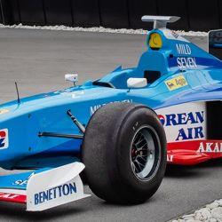 El Benetton B198 puesto a la venta