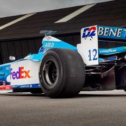 Este Benetton logró dos podios en la temporada 1998