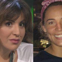 Gianinna y Rocío se reencontraron y estuvieron una al frente de la otra