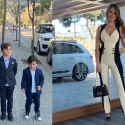 Los Messi se vistieron de gala.