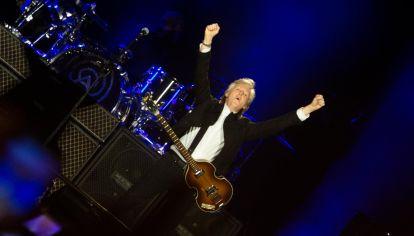 El mágico show de Paul McCartney en Argentina .