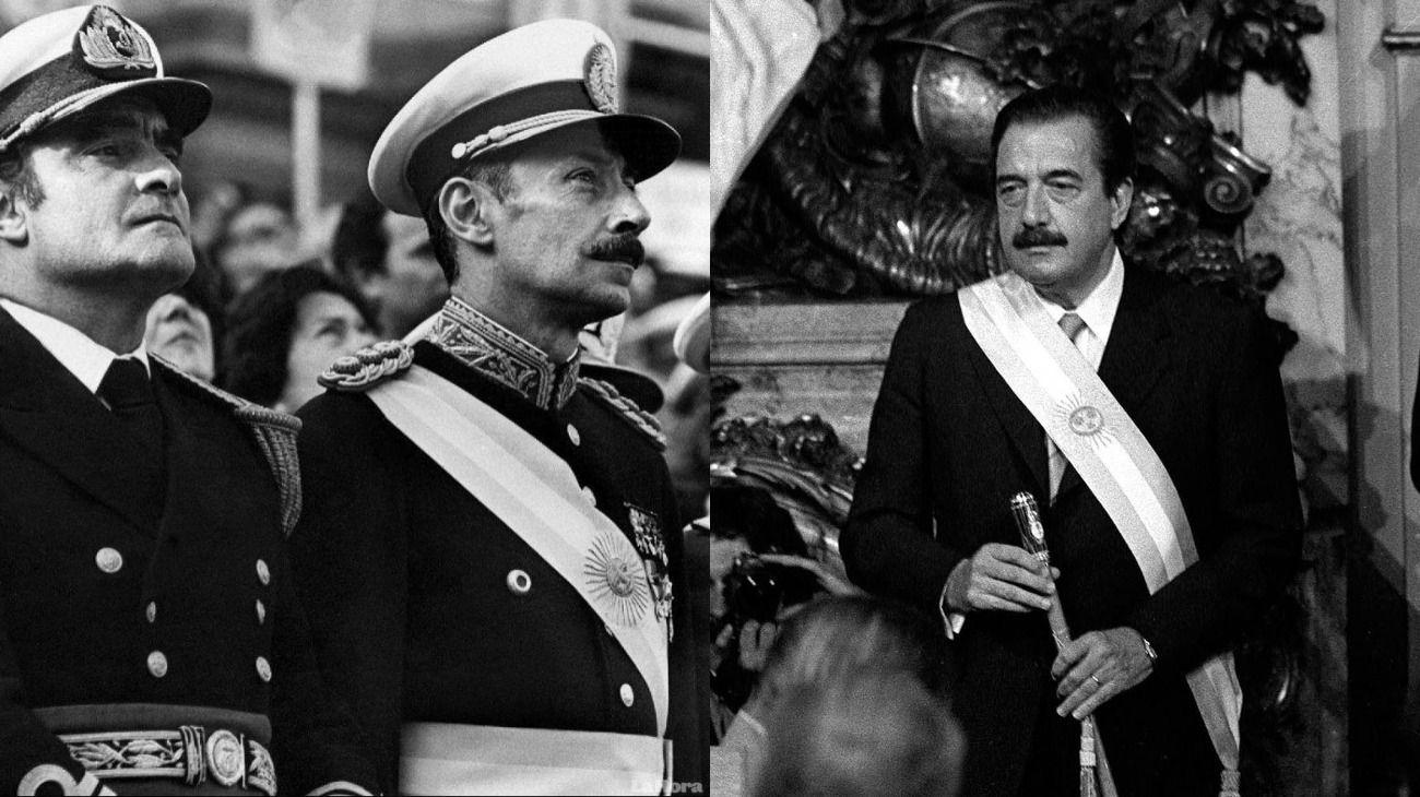 Dictadura y democracia.