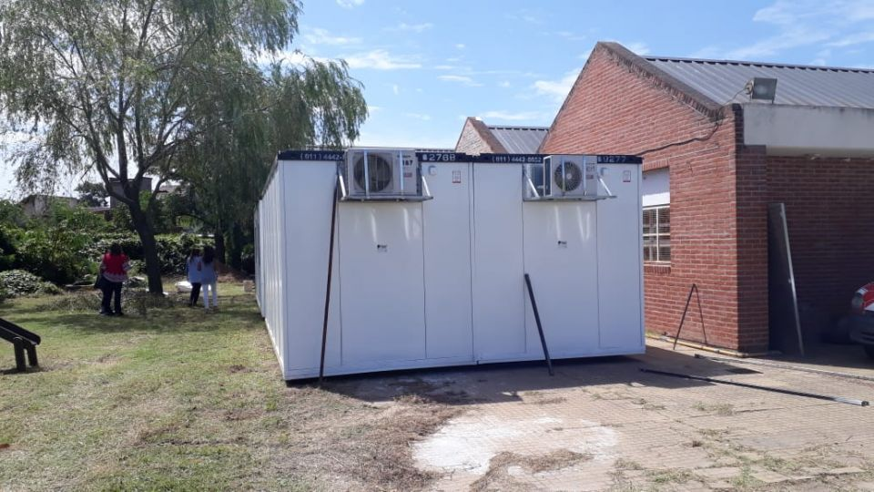 Aulas container en provincia