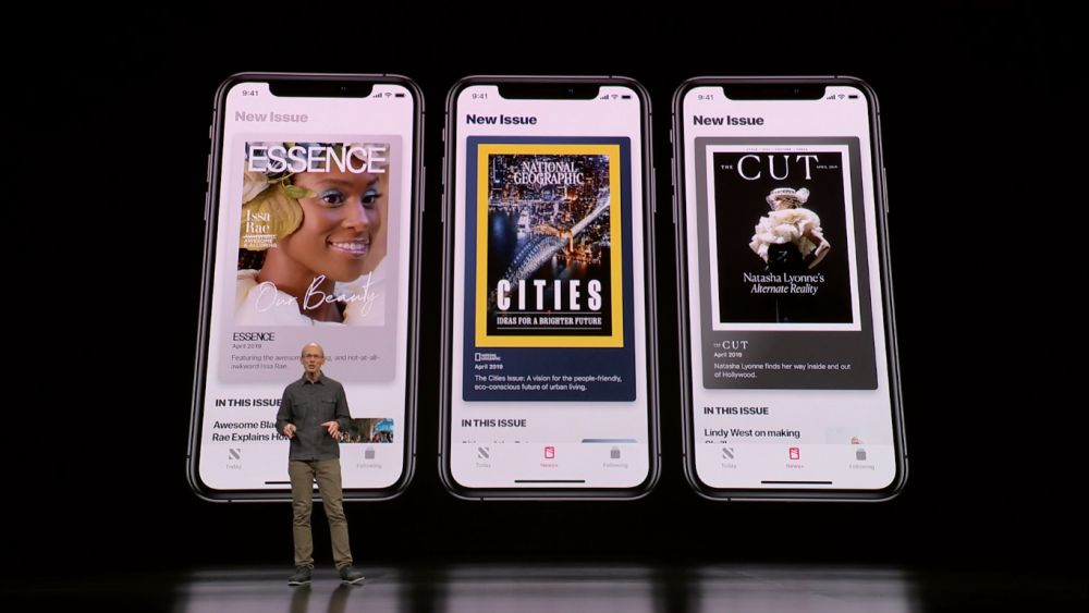 Apple lanza servicio mensual de streaming de periódicos