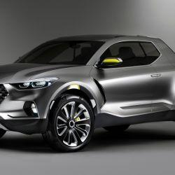 Hace cuatro años se presentó la Santa Cruz concept, pero el diseño de la pick-up de producción será diferente.