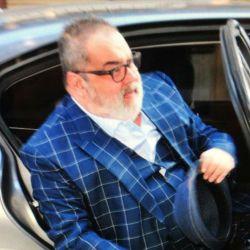 Con un look extravagante, Jorge Lanata volvió a trabajar