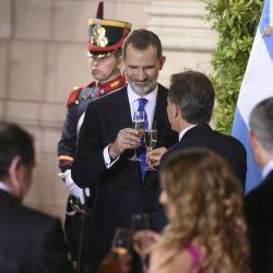 Gala a los reyes Españoles