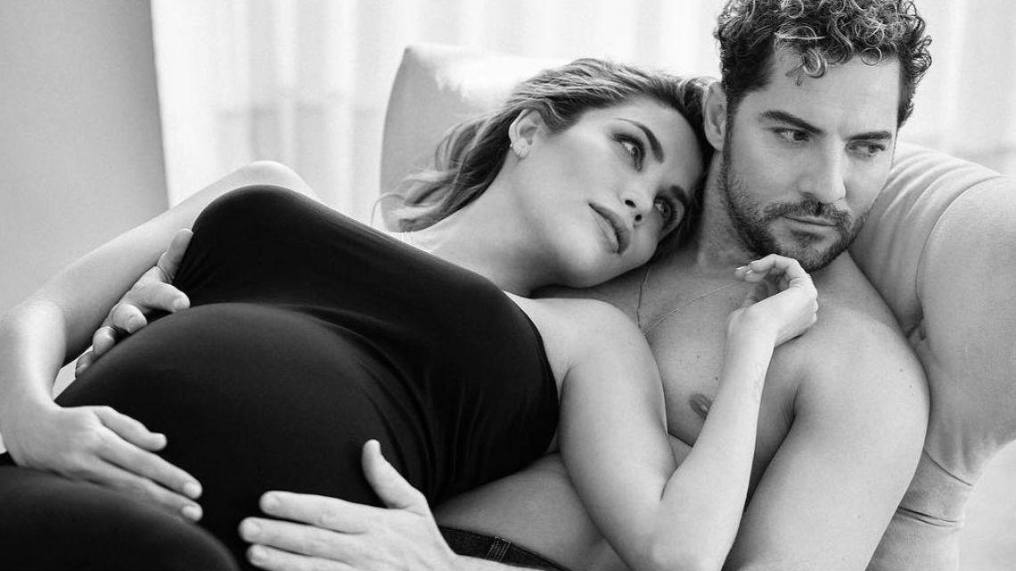 David Bisbal y su esposa, embarazada