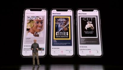 Apple lanza servicio mensual de streaming de periódicos