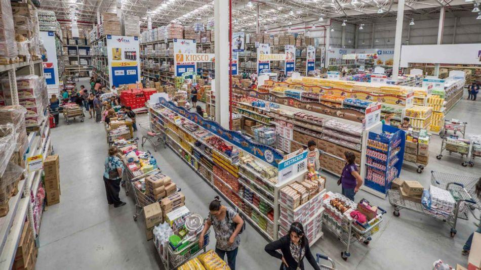 Consumo argentino: fuerte caída en supermercados