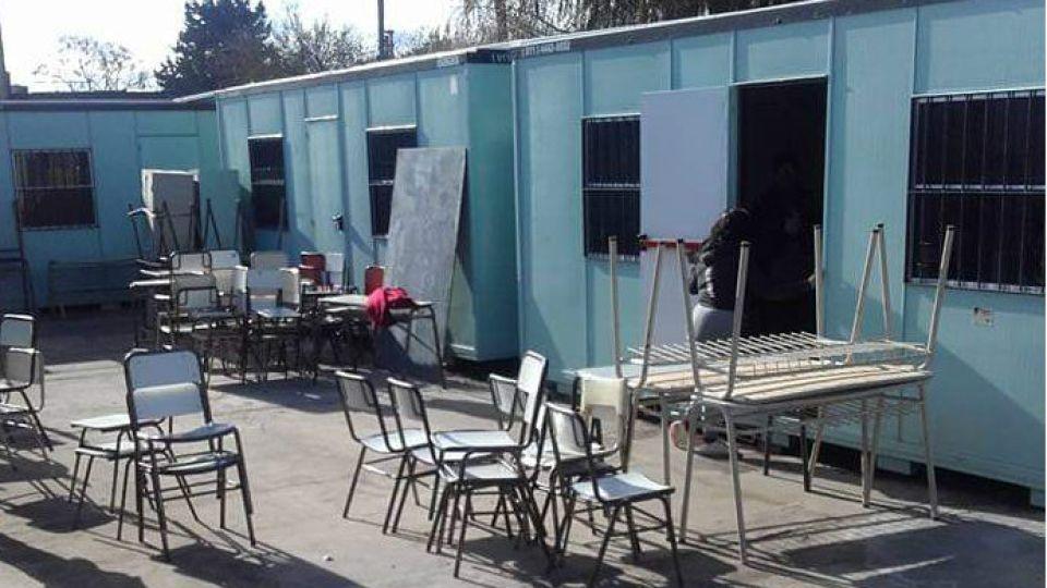 En la provincia de Buenos Aires hay 105 aulas container en funcionamiento.