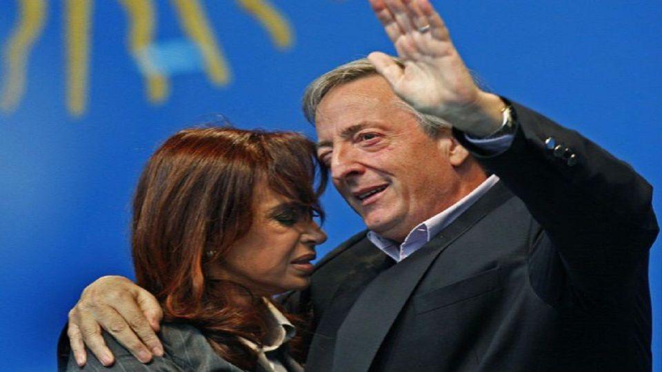 Néstor y Cristina Kirchner en 2005.