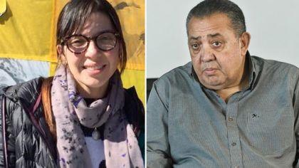 Luis D'Elía y su hija, Aimé Belén 20190326
