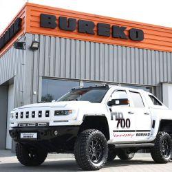 Bureko 6x6, una modificación que hace aún más impresionante al Chevrolet Silverado