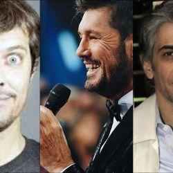 Mario Pergolini y Pablo Echarri, enfrentados a Tinelli.