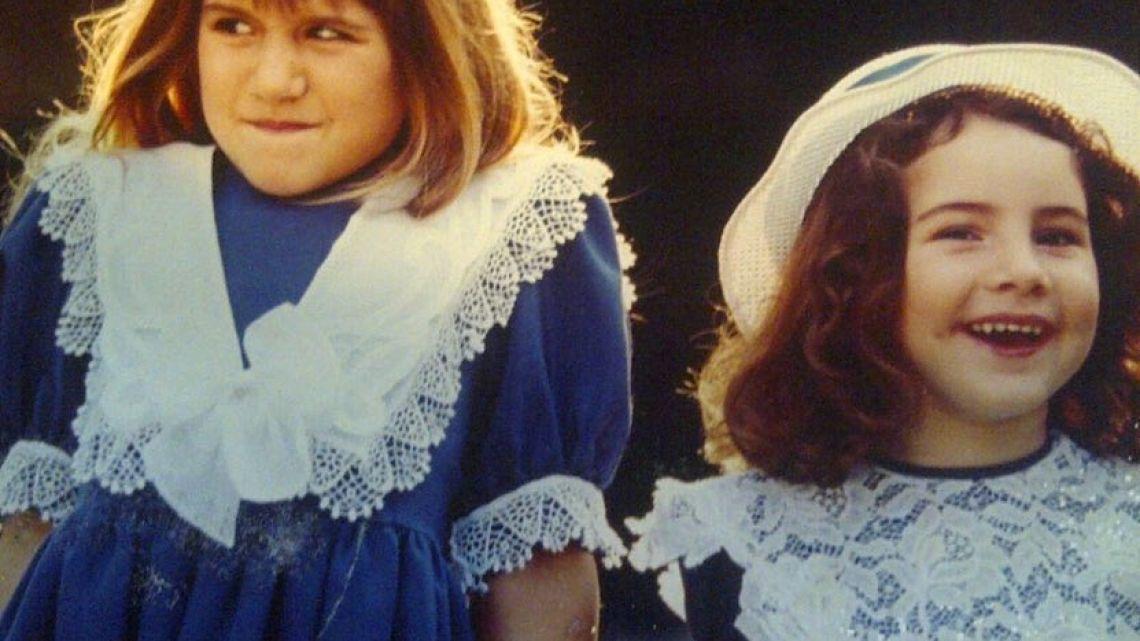 Mica y Cande Tinelli, su infancia.