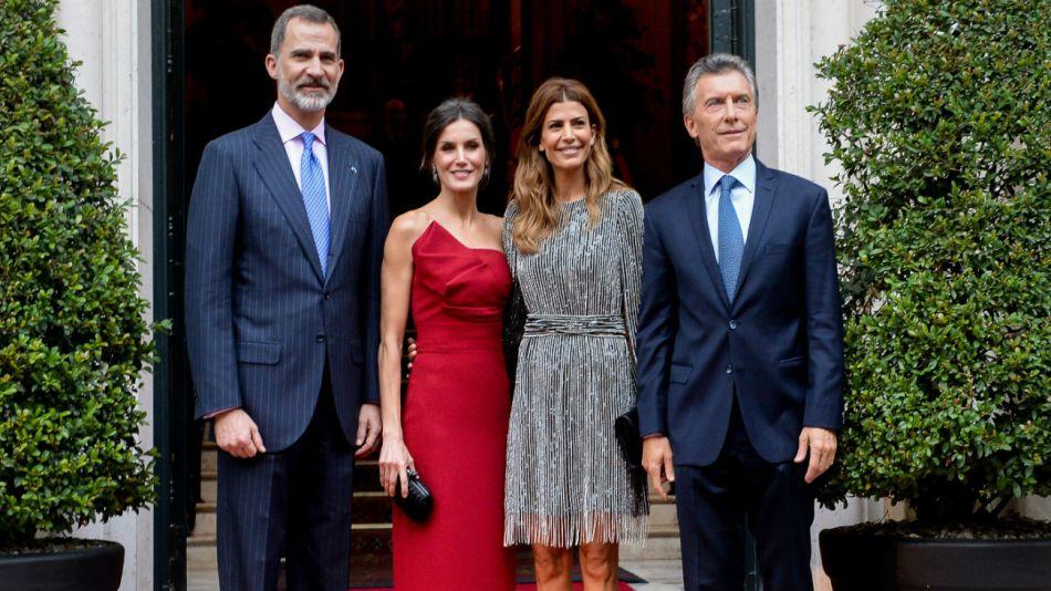 Visita real en la Argentina