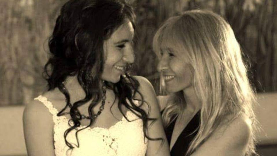 Con esta foto, Jimena Aduriz, mamá de Ángeles Rawson, recordó a su hija, asesinada el 10 de junio de 2013.