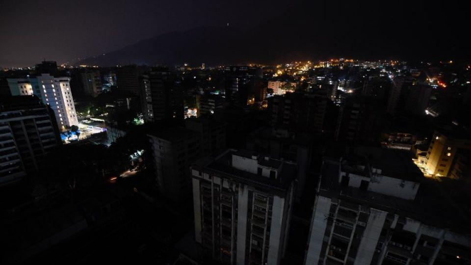 apagon general en venezuela afp