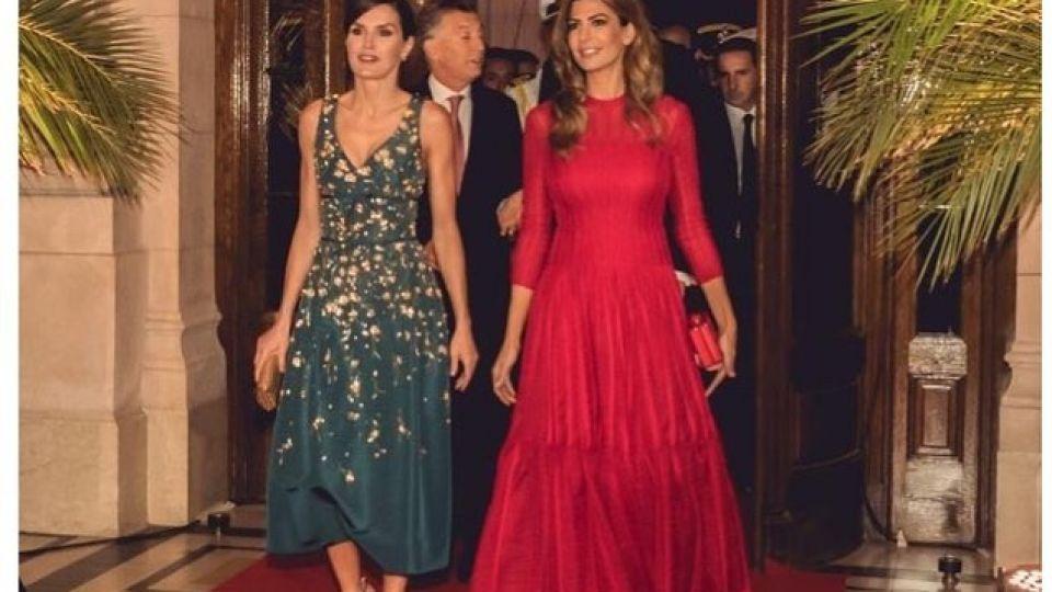 Los looks de Juliana Awada y la Reina Letizia