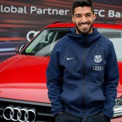 Luis Suárez, otro de los futbolistas que eligió un Audi SQ7.