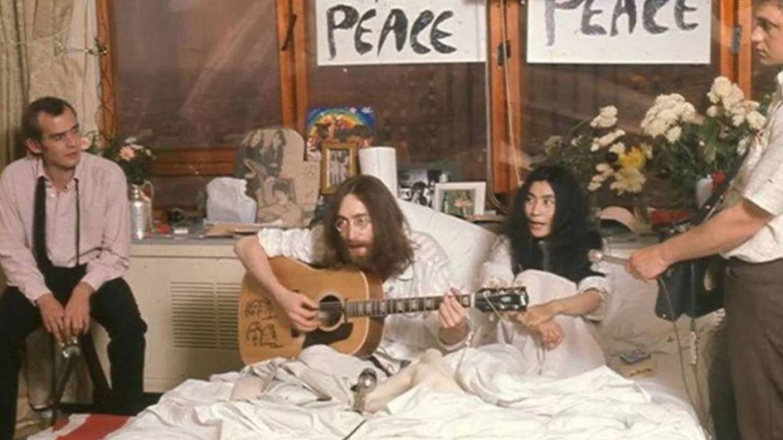 John y Yoko comenzaron una revolución.