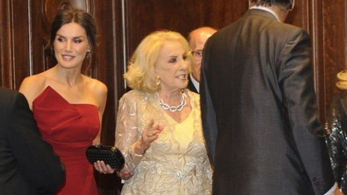Mirtha Legrand conoció a Letizia Ortiz