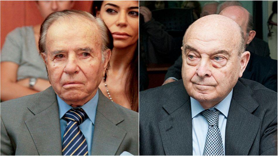 Carlos Menem y Domingo Cavallo.