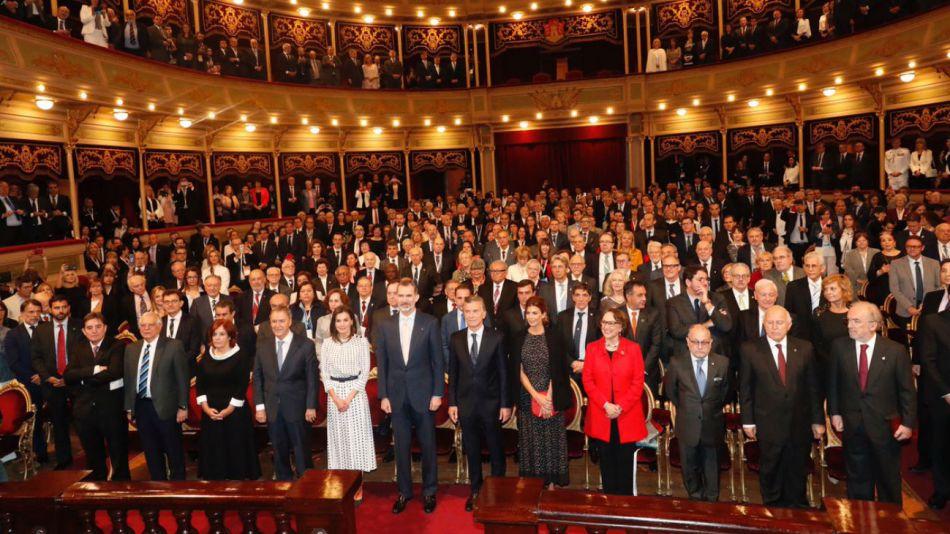 Los Reyes de España, el presidente Mauricio Macri y Juliana Awada presidieron el VIII Congreso Internacional de la Lengua Española
