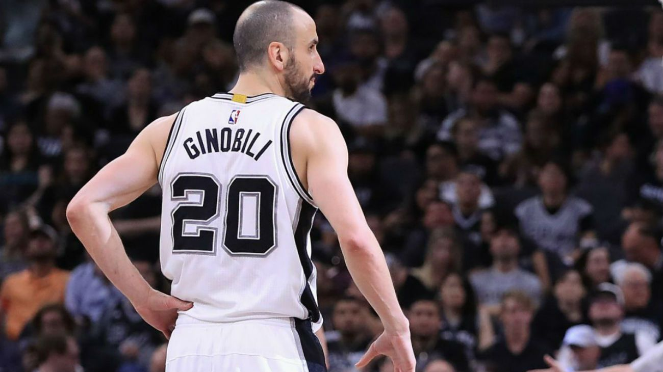 Manu Ginóbili vivirá un día histórico en San Antonio.