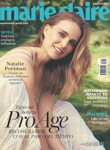 Belleza Pro Age en el segundo número de Marie Claire Argentina