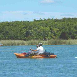 La laguna Los Horcones recuperó todo su esplendor.