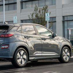 Hyundai Kona Electric, uno de los eléctricos con posibilidades de llegar al mercado local.