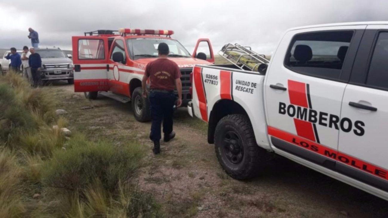 Encontraron muerto al piloto del avión fumigador que se estrelló en San Luis
