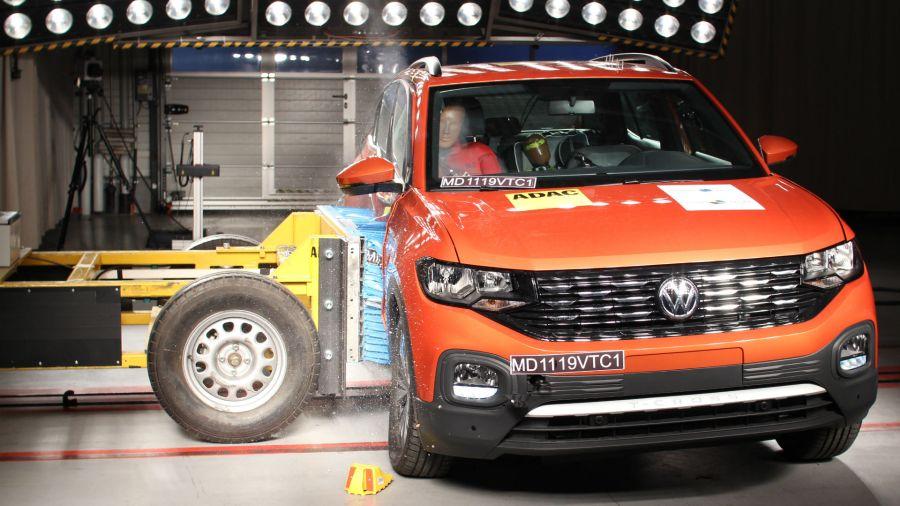 Test Latin NCAP: 5 estrellas para el VW T-Cross