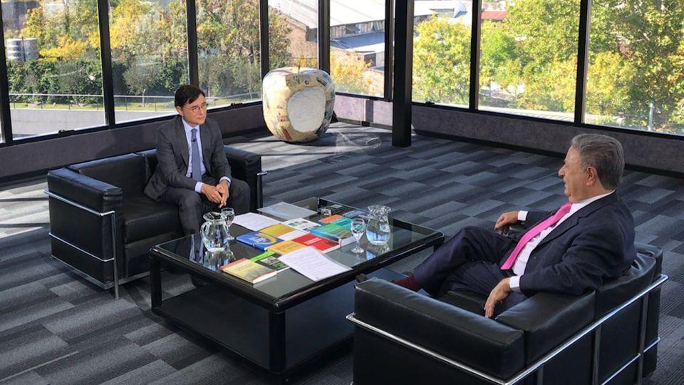 Adelanto Entrevista de Jorge Fontevecchia a Eduardo Duhalde
