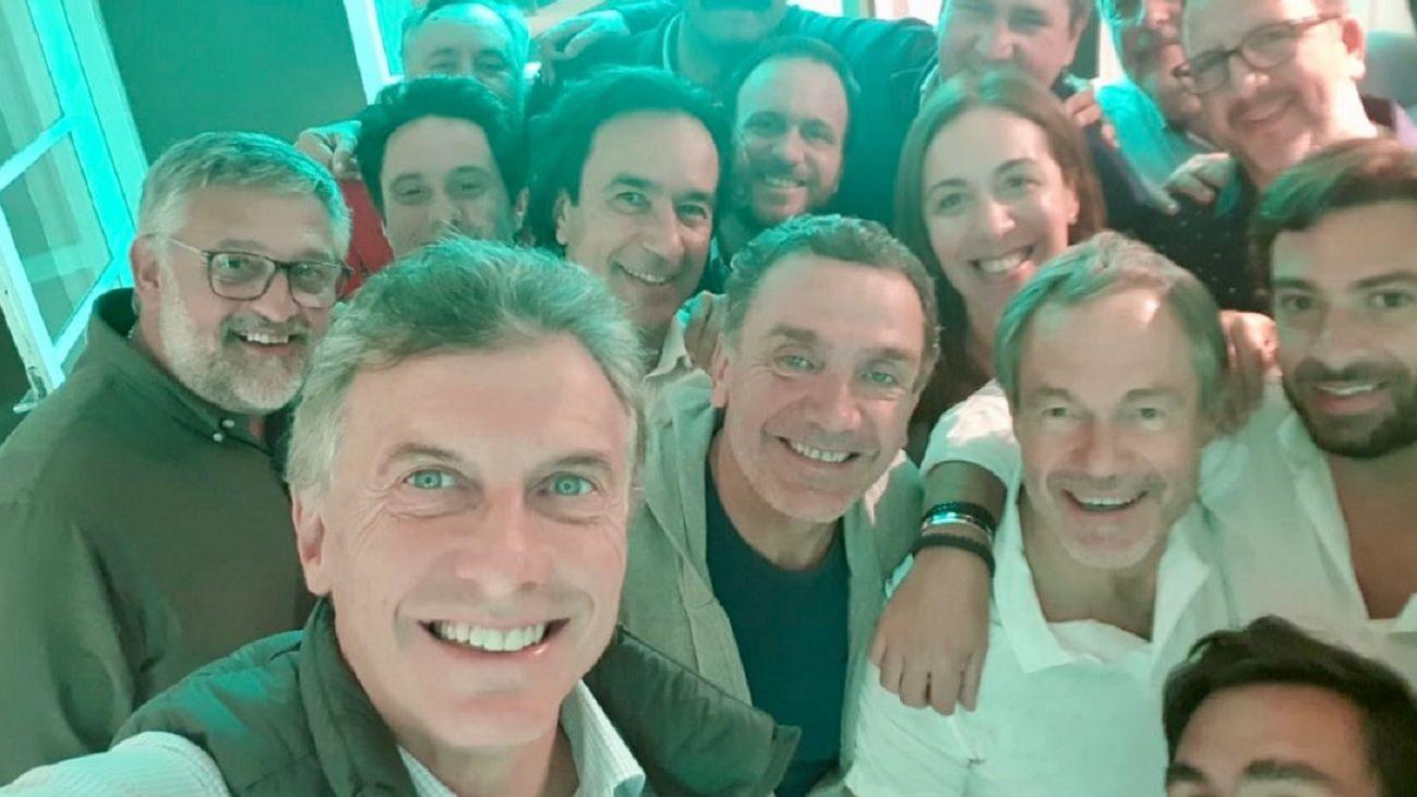 Macri cayó de sorpresa al retiro de María Eugenia Vidal y su gabinete en Chapadmalal