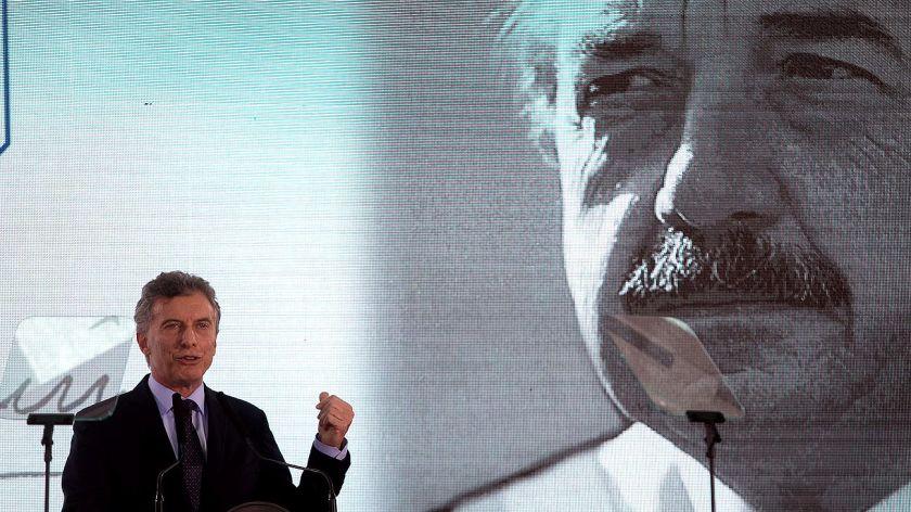 El PJ bonaerense homenajeó al ex Presidente Alfonsín en Chascomús