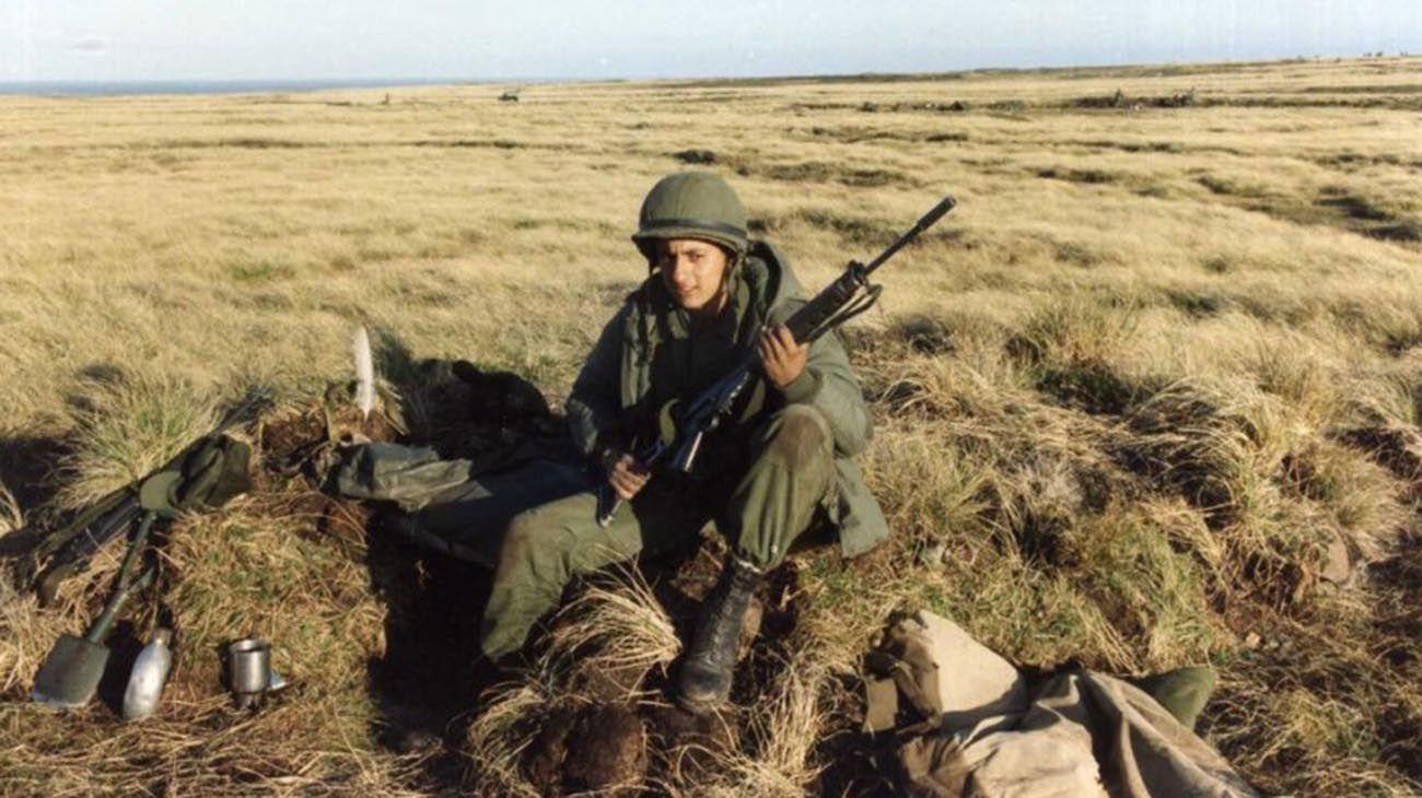 Fotos ineditas de soldados en malvinas