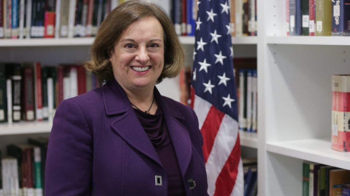 Suzanne Lawrence, Special Advisor for Children's Issues at the US State Department.