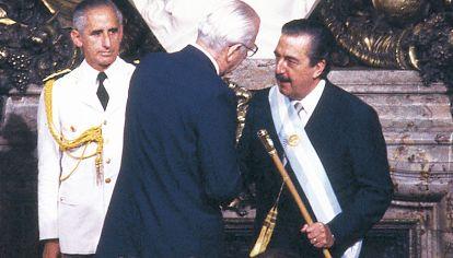Asunción. Raúl Alfonsín sintió que era su gran desafío político.