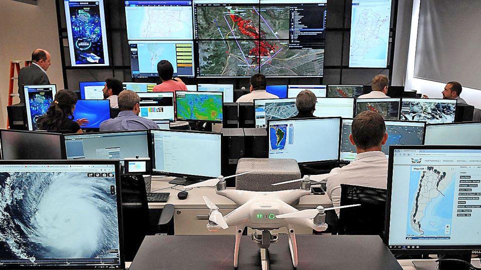 Tecnología. El espacio, ubicado en San Cristóbal, tiene sensores, drones y equipos satelitales.