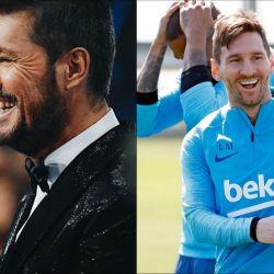 Marcelo Tinelli apoyó a Messi