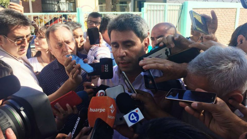 Sergio Uñac va por la reelección provincial.
