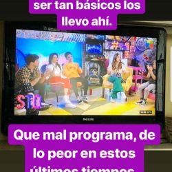 Los mensajes de Robertito en Instagram