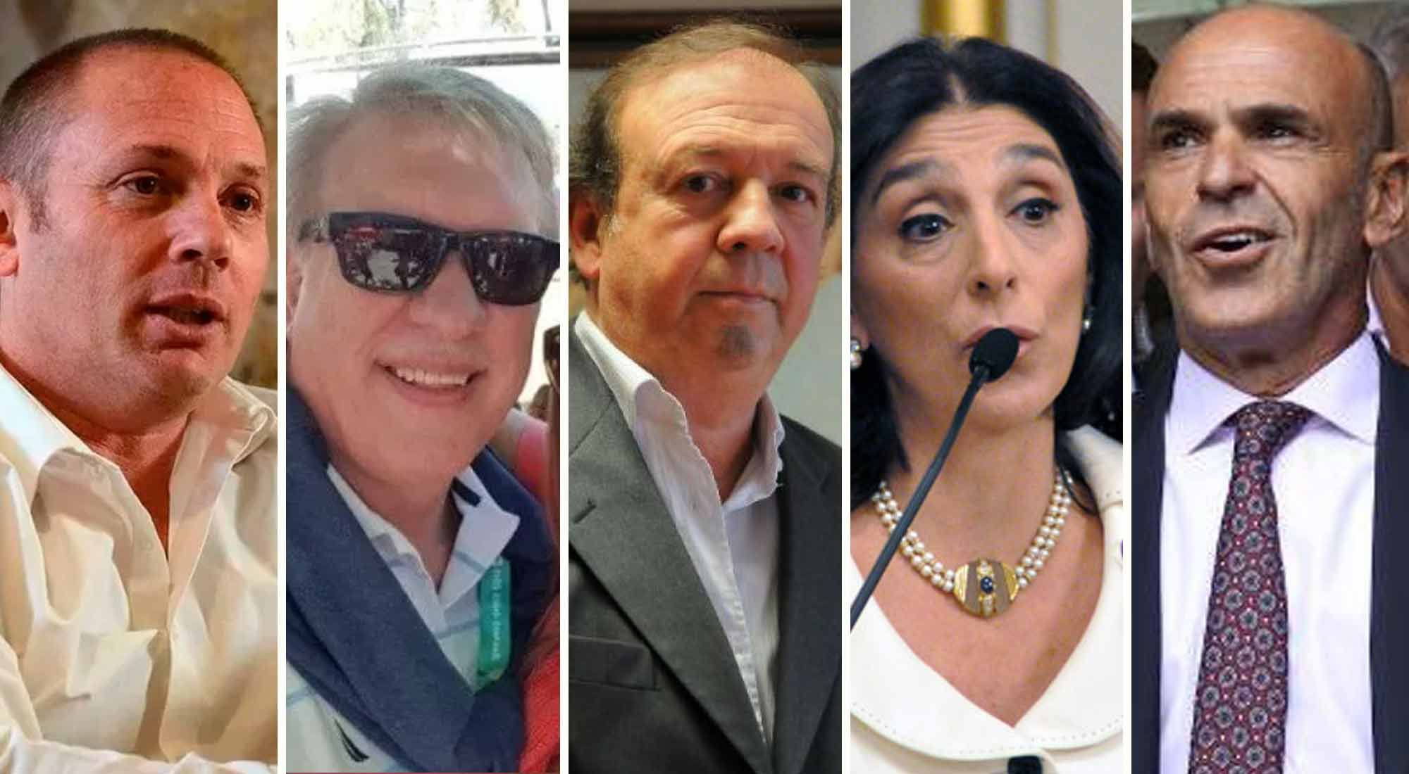 Quiénes son los agentes de la AFI involucrados en el caso D'Alessio
