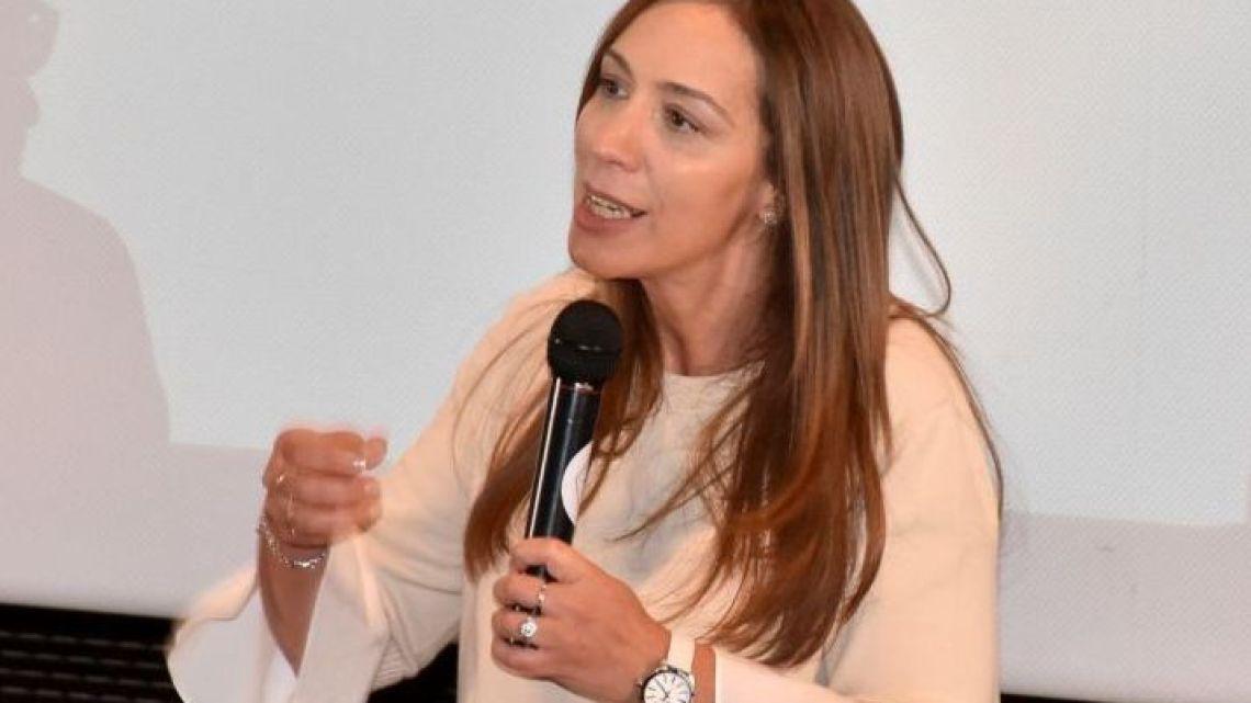 Governor of Buenos Aires province Maria Eugenia Vidal.