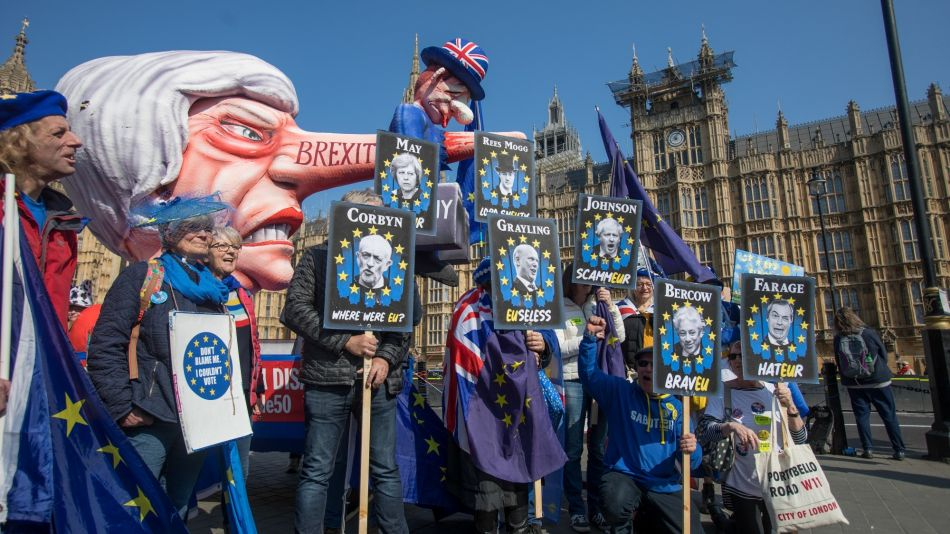 Parliament Seizes Control Amid Brexit Rift in U.K. PM May's Tories