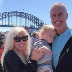 Mirko, Marley y Susana viajaron a Sydney.