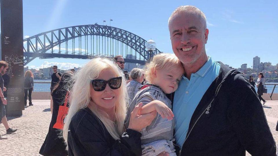 Mirko junto a Marley y Susana Giménez en Australia.